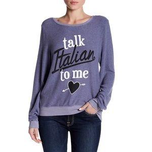 Tops - Wildfox Talk Italian To Me